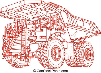 dumper - Technical illustration