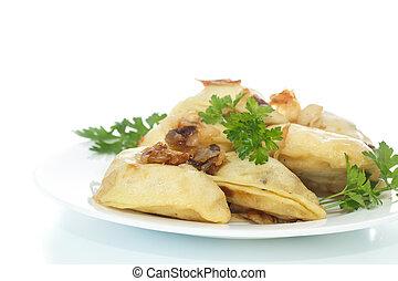 dumplings stuffed with
