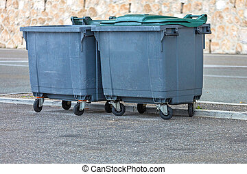dumpster, 大箱, フランス