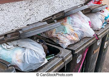 dumpster, 廃棄物管理