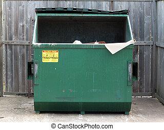 simply plain dumpster