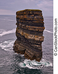 Dun Briste, Downpatrick Head, Co.Mayo - Dun Briste, an...