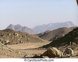 dunas, 1, arena, desierto