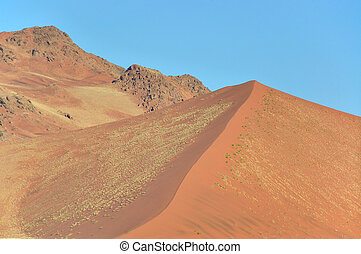 Dune and mountain near Sossusvlei