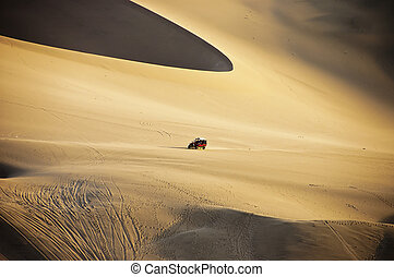Dune Buggy and Dunes