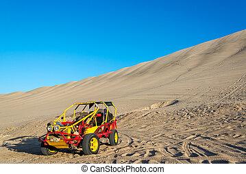 Dune Buggy in Huacachina, Peru