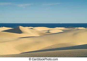 dune, e, mare