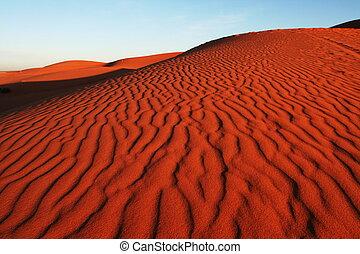 Dune in desert - Deserts dune