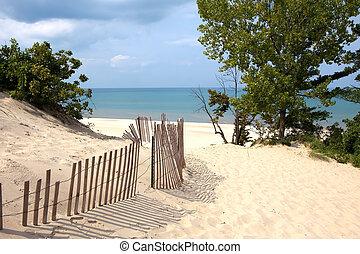 dune, indiana, sabbia