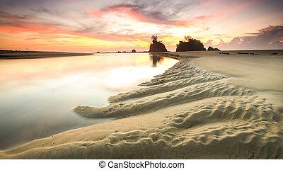 Dune lake