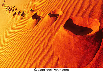 dune, sable, encombrements