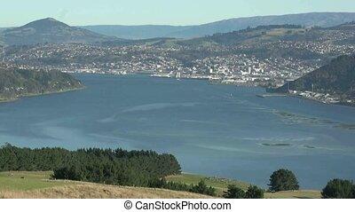 Dunedin Harbour - Dunedin, New Zealand, May 2012 View from...