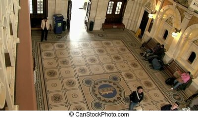Dunedin Railway station foyer - Dunedin, New Zealand %u2013...