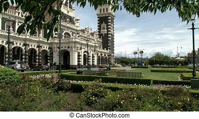 Dunedin Railway station - Dunedin, New Zealand %u2013 May...