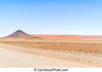 Dunes near Sesriem in Namibia