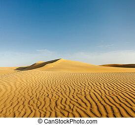 Dunes of Thar Desert, Rajasthan, India - Dunes of Thar ...