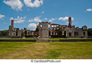 Dungeness Mansion Ruins on Cumberland National Seashore