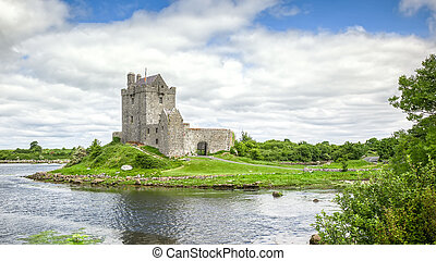 Dunguaire Castle Ireland - A HDR image of the Dunguaire...
