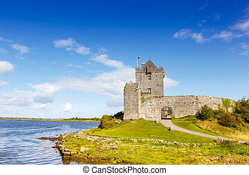 Dunguaire Castle tower Ireland traveling travel middle ages
