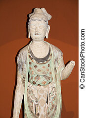 carve - Dunhuang carve of china ancient myth