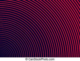 dunkel, hintergrund., kurve, blaues, linie, abstrakt