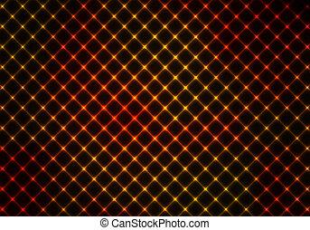 dunkel, orange, abstrakt, hintergrund