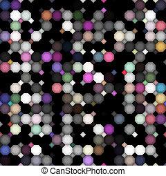 dunkel, punkte, gefärbt, dreckige , muster
