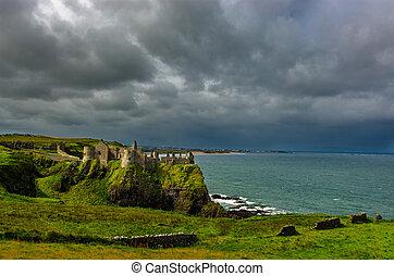 Dunluce Castle in Northern Ireland
