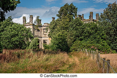 Dunmore Park House near Falkirk - View of Dunmore Park House...