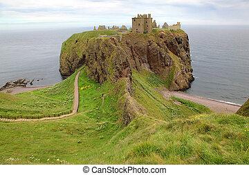 Dunnottar Castle, Scotland, UK