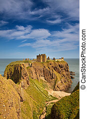 dunnottar, escocia, castillo