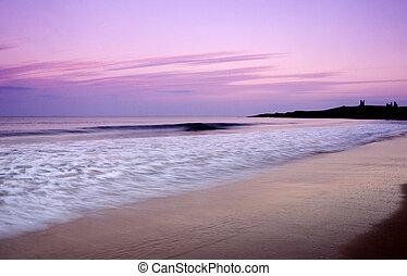 Dunstanburgh Beach - Dunstanburgh a unique take on a classic...