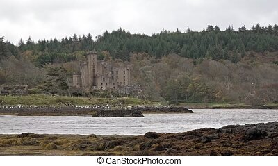 Dunvegan castle on the Isle of Skye - the seat of the...