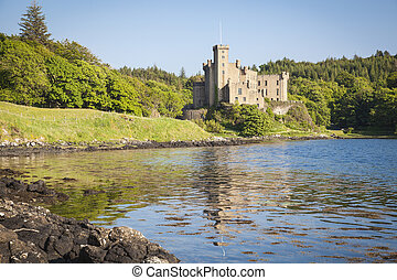 Dunvegan on the Isle of Skye, Scotland