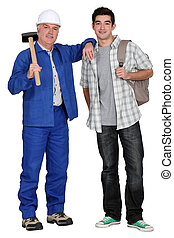 duo of carpenters