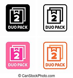 Duo pack, purchase profitable offer