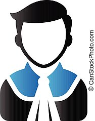 Duo Tone Icon - Judge avatar