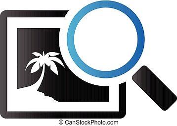 Duo Tone Icon - Printing quality control