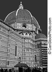Duomo B&W