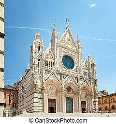 Duomo Cathedra of Siena Tuscany Cathedra