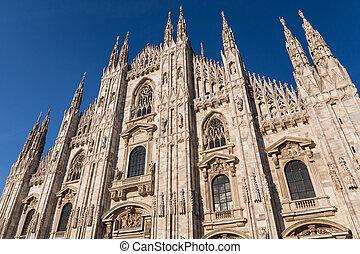 Duomo Cathedral of Milan Italy