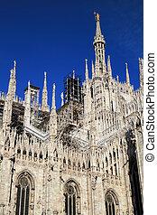Duomo Cathedral of Milan, Italy