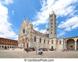 Duomo di Siena, Italy - cathedral of Siena, Duomo di Santa...