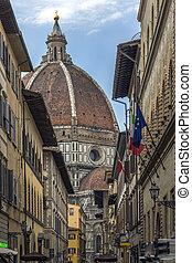 duomo, -, itália, florença