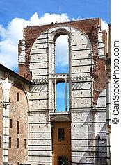 Duomo nuovo Siena Italy
