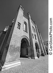 Duomo of Alba, italy