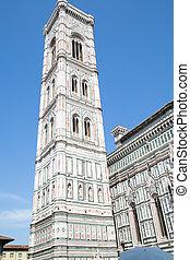 duomo santa maría del fiore, y, campanile