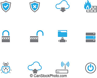 Duotone Icons - Computer Network