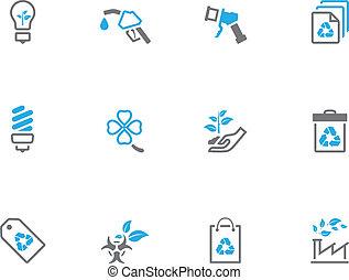 Duotone Icons - More Environment