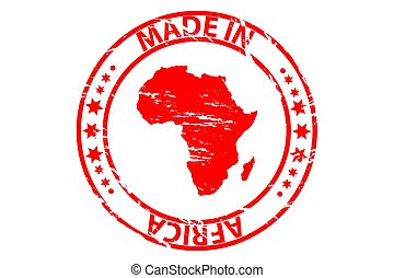 dupnutí, -, brus, udělal, afrika